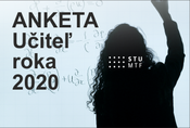 Anketa Učiteľ roka 2020 na MTF STU so sídlom v Trnave