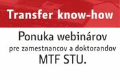 3.11.2020 Webináre: Transfer know-how