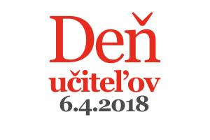 Deň učiteľov 6.4.2018-pozvánka