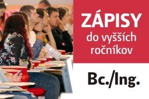 E-zápis predmetov pre študentov do 2. a 3. roku štúdia na ak. rok 2019/2020