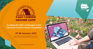 Common Ground Camp Online: Prispejte k tvorbe riešení pre zníženie negatívnych dopadov pandémie a vyhrajte až 3 tisíceur