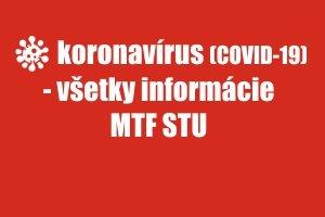 Koronavírus-všetky informácie TU (COVID - all informations here)