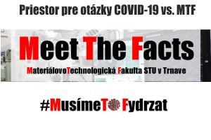 Priestor na otázky a odpovede COVID-19 vs MTF