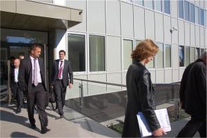 Návšteva  z  Francúzskeho veľvyslanectva